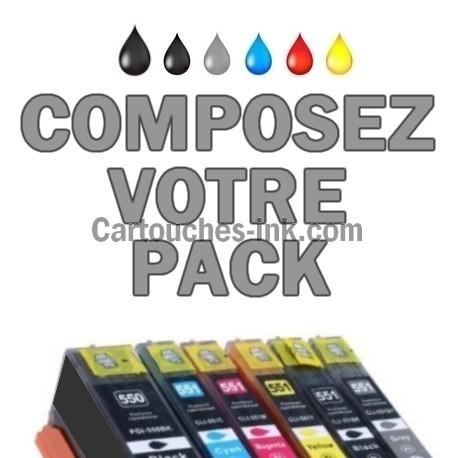 Cartouches compatibles Canon PGI-550 CLI-551