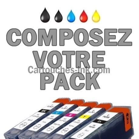 Cartouches compatibles Canon PGI-520 CLI-521