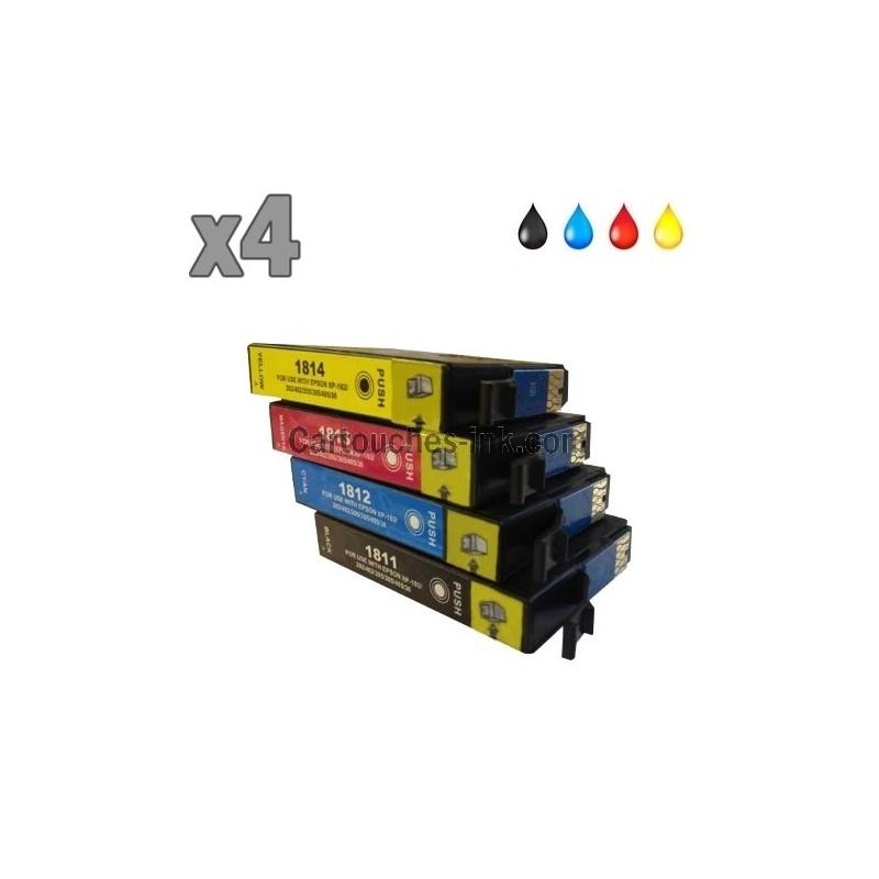 cartouche compatible epson 18xl pour les imprimantes expression home. Black Bedroom Furniture Sets. Home Design Ideas